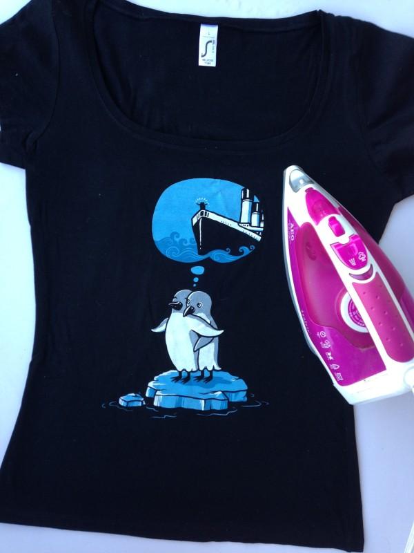 Kater Likoli T-Shirt Motiv Titanic