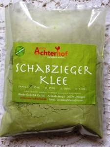 Schabzieger Klee vom Achterhof