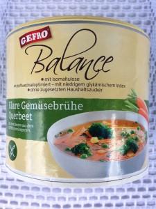 GEFRO Balance - Klare Gemüsebrühe Queerbeet
