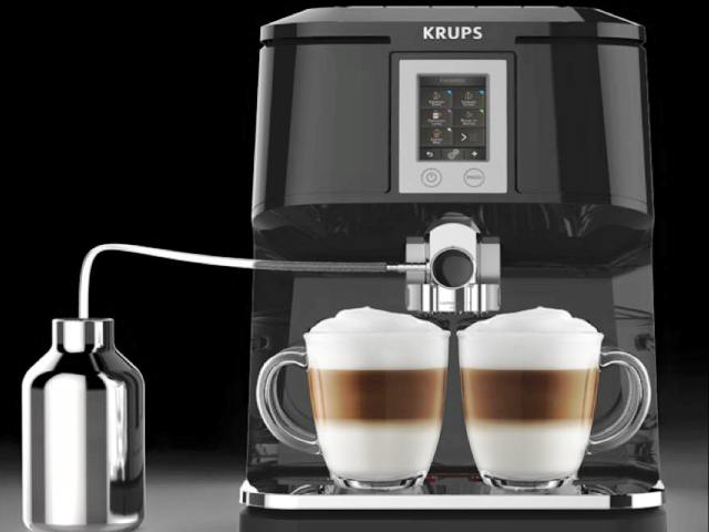 KRUPS 2in1 Touch Kaffeevollautomat EA8808 Quelle: Leckerscouts