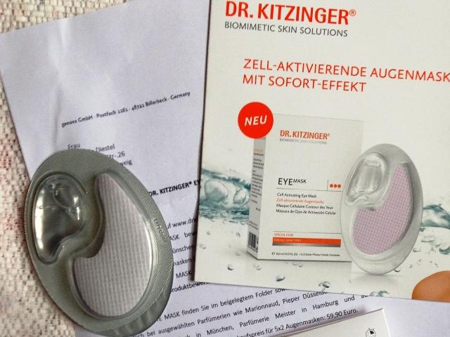 Augenmaske von Dr. Kitzinger