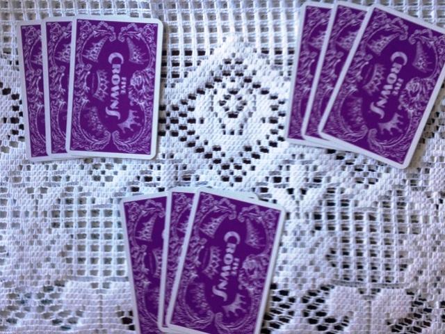 Königs-Rommè die Verteilung der Karten
