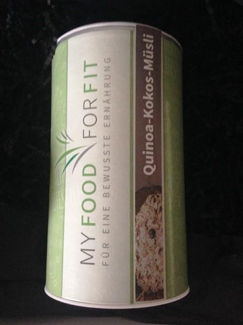 Quinoa Kokos Müsli: von MyFoodForFit