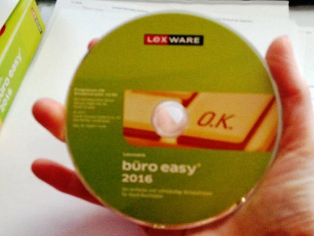 LEXWARE büro easy 2016, Software