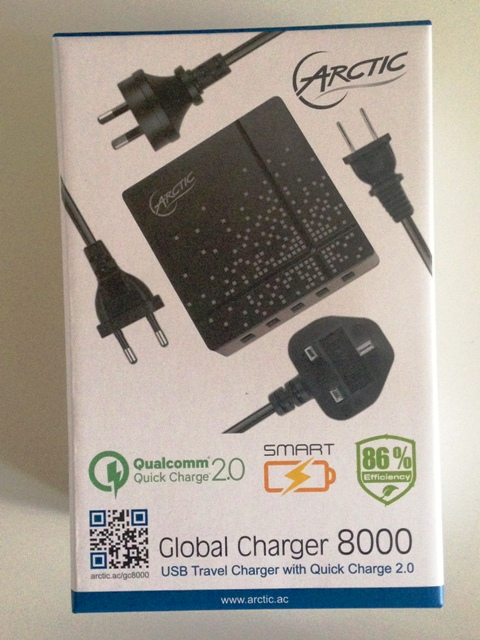 Global Charger 8000 von ARCTIC