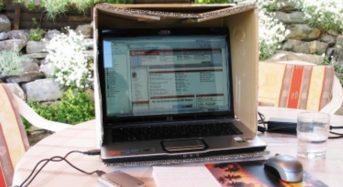 Laptops vor der Sommer- Hitze schützen