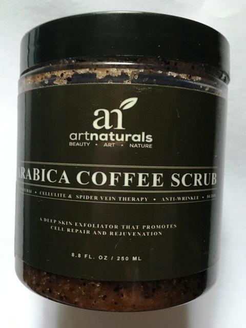 Totes Meer Salz & Kaffee Peeling von Art Naturals