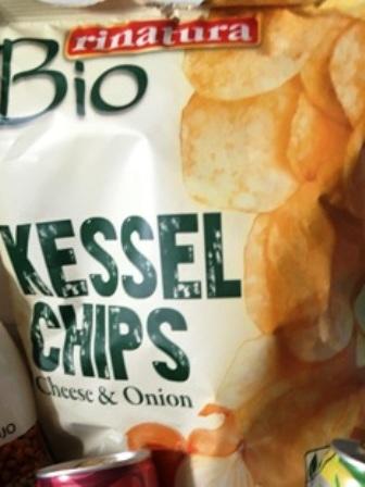 """Rinatura Bio Kesselchips """"Cheese & Onion"""""""