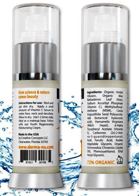 Vitamin C Serum von Derma-nu Skin Remedies