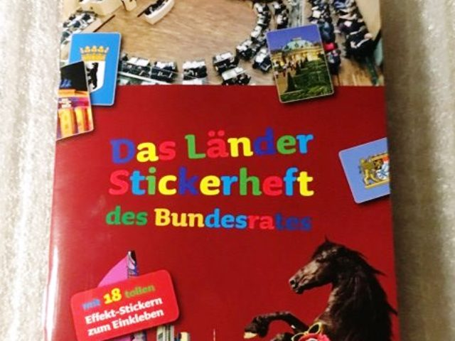 Gratis Stickerheft für Kinder