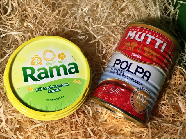 Rama und MUTTI Polpa Fine
