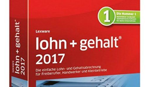 Lexware Lohn+Gehalt 2017 Jahresversion