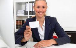Visitenkarte – Aushängeschild im Berufsleben