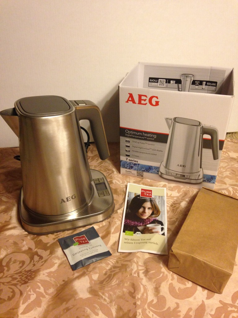 AEG Wasserkocher Premium Line EWA 7800 Series