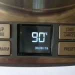 Temperaturvorschlag für Tee