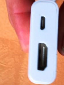 Adapterkabel der Firma Leicke
