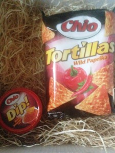 "Chio Dip! Honey Jalapeño &  Chio Tortillas ""Wild Paprika"""