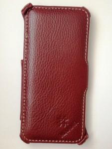 Schutztasche von LEICKE aus echten Leder