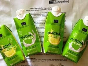 Matcha crema & Lemon im Tetra Pack von TeeGschwendner