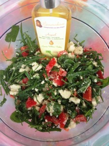 Salat mit Arganöl von Bionaturehouse