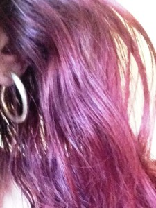 Aussehen meiner Haare nach der einmaligen Anwendung mit Arganöl von Bionaturehouse