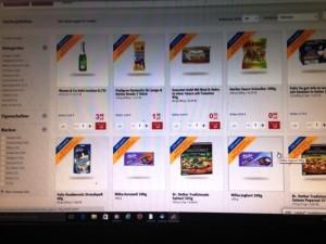 Online-Angebote von REWE