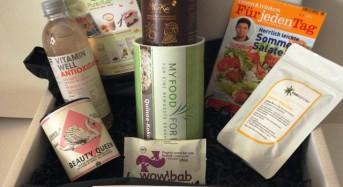 Gourmet Box August 2015 – Fit-Box