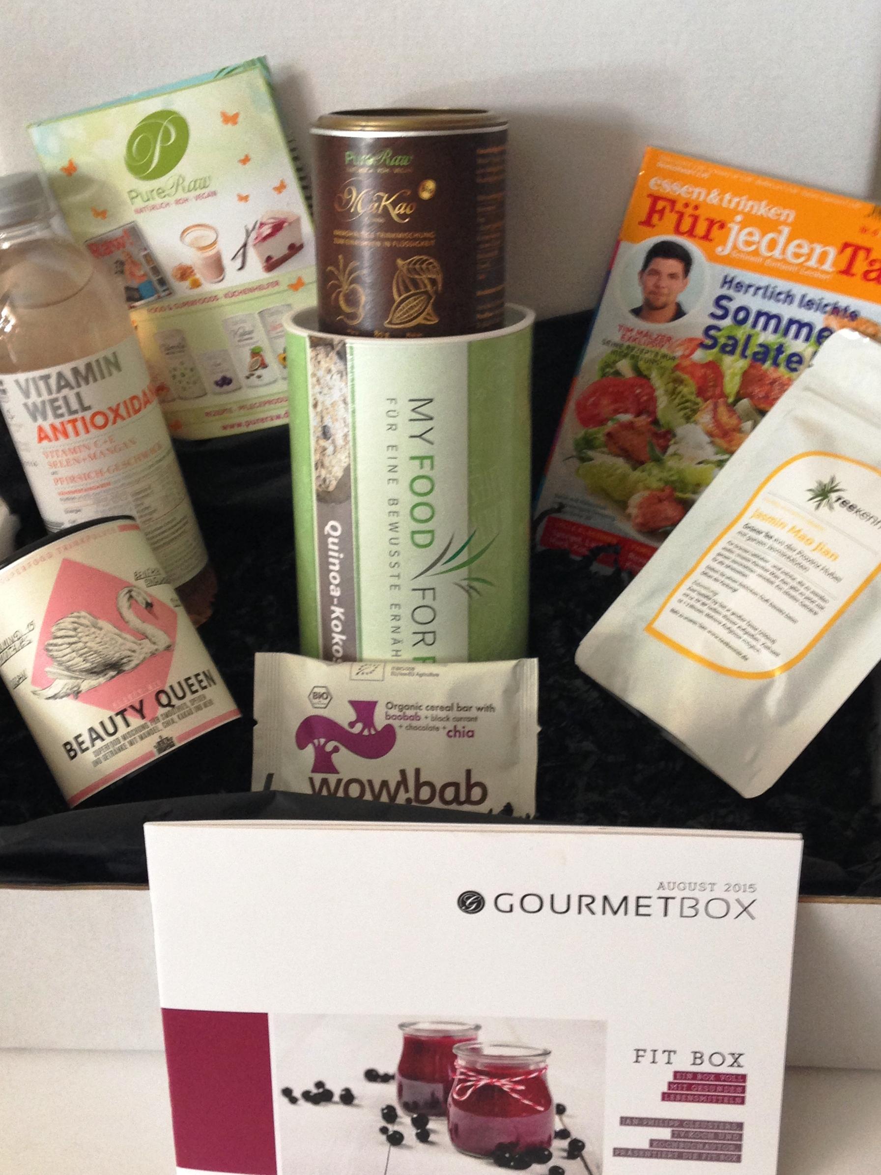 Gourmet Box die Fit Box