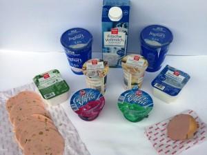 Kühlprodukte von REWE