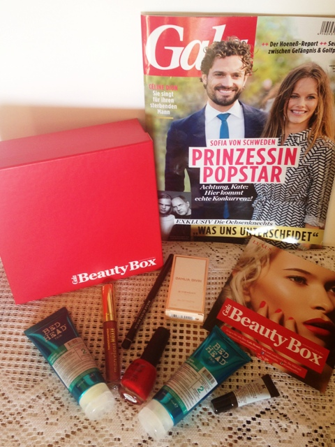 Gala Beauty Box September 2015 - Luxus Edition