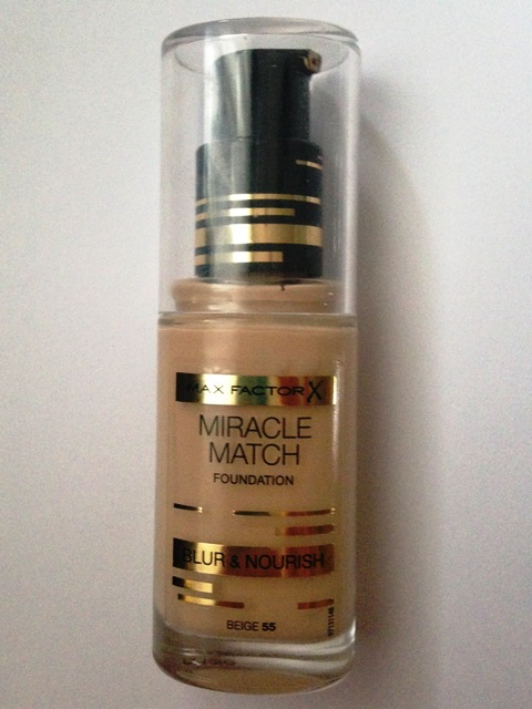 Max Factor Miracle Match Foundation: Nuance 55 Beige