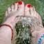 Fußsprudelbäder: Entspannung pur