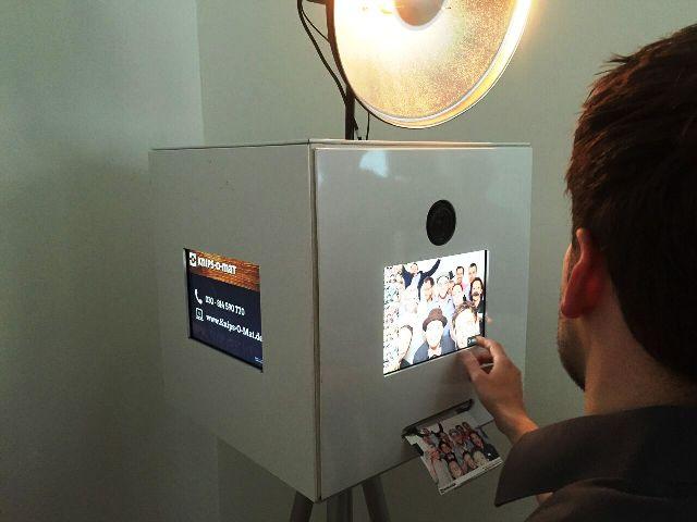 Fotoautomat von Knips-O-mat