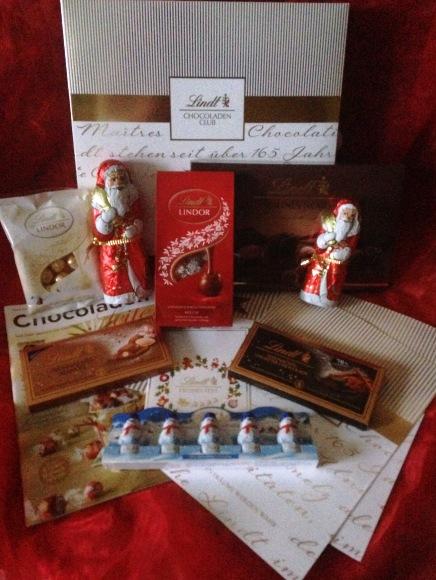 Lindt-Schokoladen Box