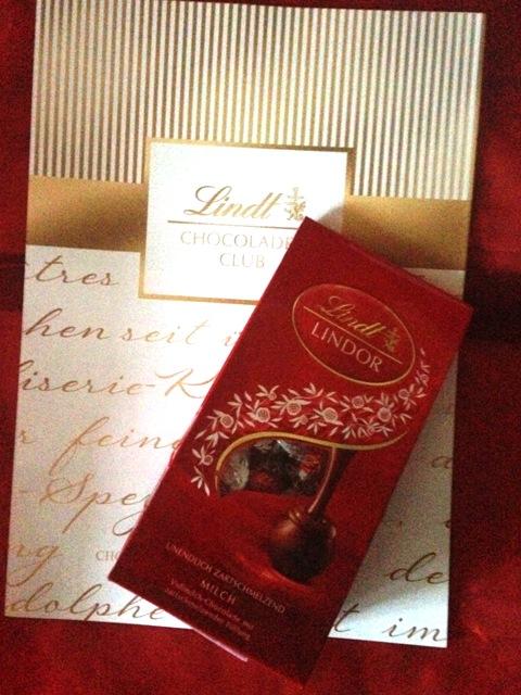 Lindt Chocoladen-Box, LINDOR von Lindt