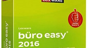 LEXWARE  büro easy 2016