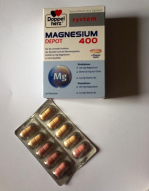 Doppelherz system MAGNESIUM Depot 400