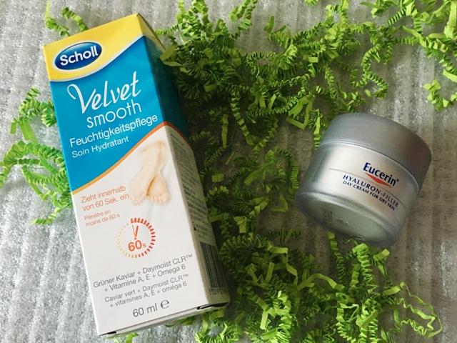 Velvelt smooth von Scholl und Eucerin mit Hyaluron Filter