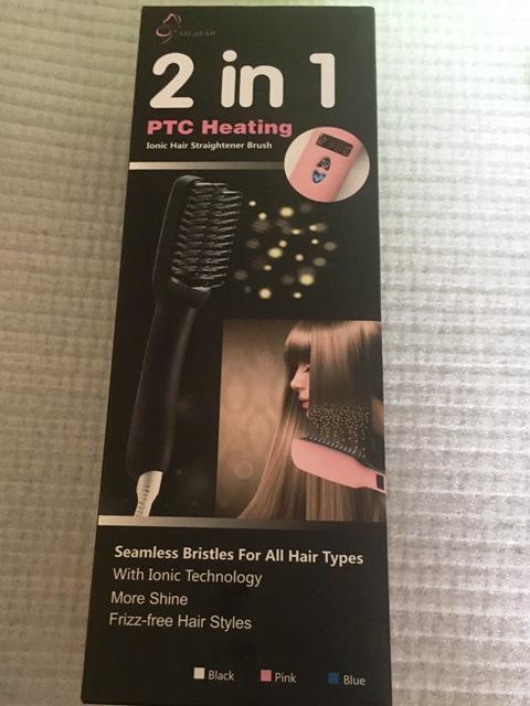 2-in-1 Haarglätter Bürste vn TEC BEAN