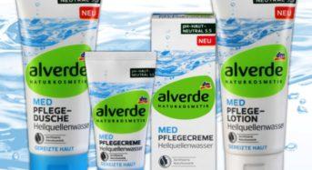 alverde MED Heilquellenwasser-Serie