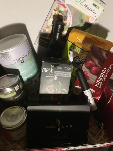 Genussbox November 2016 von Brandnooz