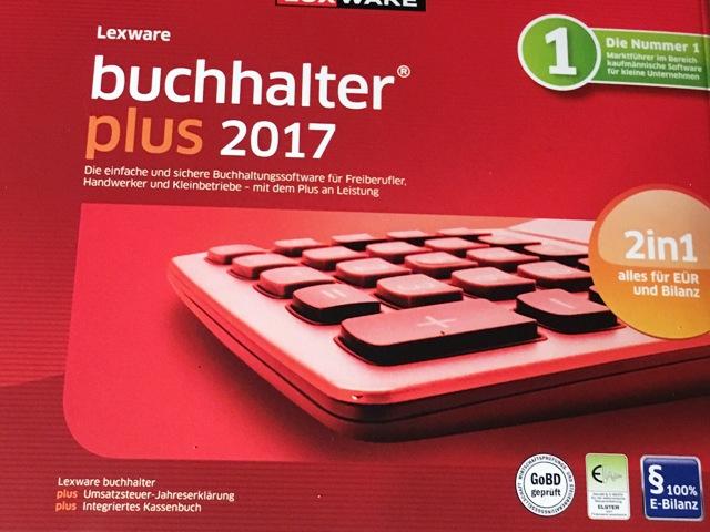 Lexware buchhalter plus 2017 FFP Jahresversion 365-Tage