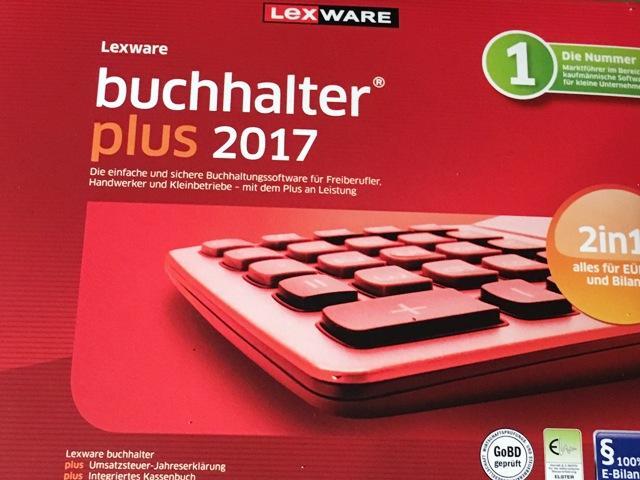 Lexware buchhalter plus 2017 FFP Jahresversion (365-Tage)