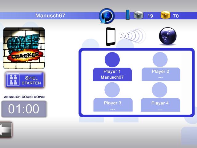 Merkur eCup - der Multiplayermodus