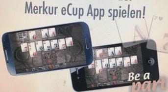 -Anzeige – Merkur eCup – die Gaming App