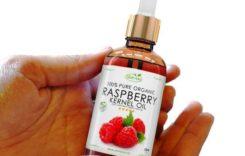 Himbeersamenöl – das Anti-Aging Pflegeöl