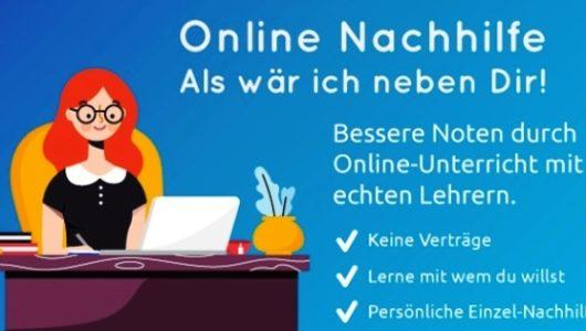 Anzeige – Online Nachhilfe mit Easy-Tutor