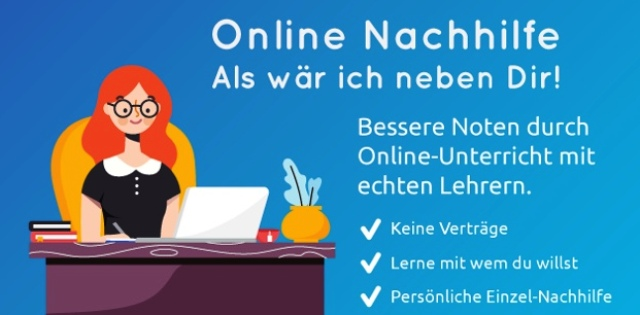 Online Nachhilfe mit Easy-Tutor