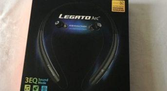 Nackenbügelkopfhörer Bluetooth Legato Arc R72E