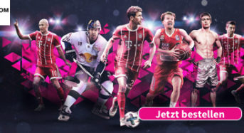 Telekom Sportpaket mit Sky Sport Kompakt-Anzeige